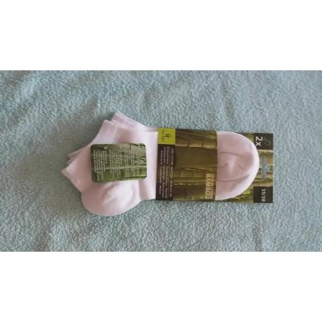 socquette mi-courte (au dessus de la malléole)