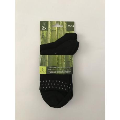 Chaussettes courtes en bambou